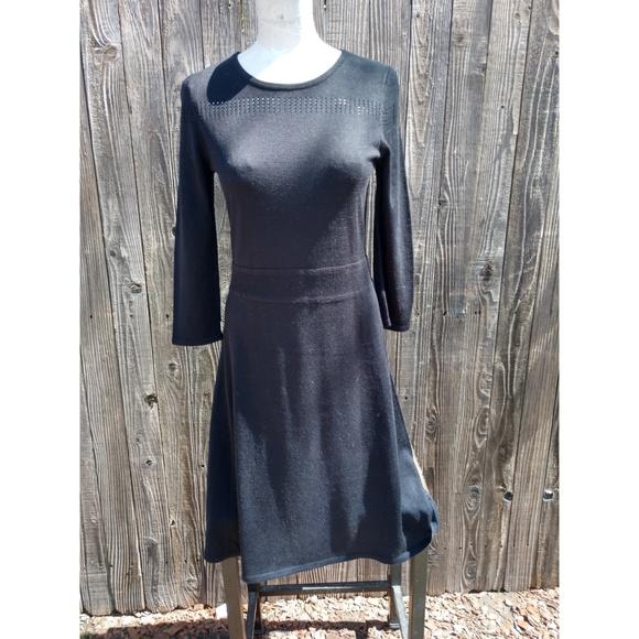 Jones New York Dresses & Skirts - Black sweater dress size S